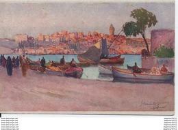 Constantinople-La Tour De Galata- Vue De Stamboul - Turchia