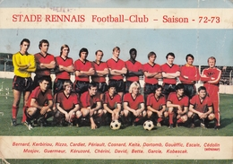 Rennes - Football Club Saison 1972/73 - Autographe Zdenko Kobescak - Rennes