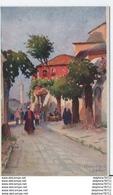 Constantinople-Une Rue à Stamboul Vue Du Séraskerat - Turkije