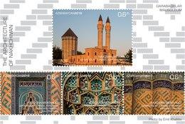 Azerbaijan Stamps 2019 Mausoleum In Garabaghlar Village Nakhchivan Mosk Religion - Azerbaijan