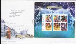 Great Britain FDC 2008 Christmas Souvenir Sheet  Tallents House (NB**LAR8-72) - FDC