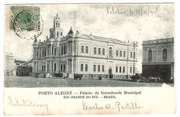 PORTO ALEGRE - Palacio Da Intendencia Municipal - Rio Grande Do Sul, Brazil - Porto Alegre