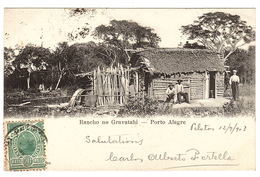 PORTO ALEGRE - Rancho No Gravatahi - Ed. M. Glückstadt & Münden, Hamburg - Porto Alegre