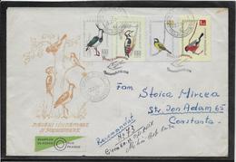 Thème Oiseaux - Roumanie - Enveloppe - Birds