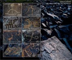 Azerbaijan Stamps 2019 Gamigaya Petroglyphs. Ordubad Region Nakhchivan History - Archaeology