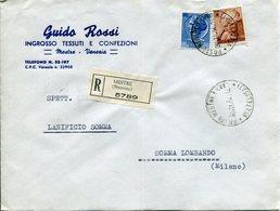Italia (1964) - Raccomandata Da Mestre - 6. 1946-.. República