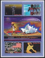 Olympics 2000 - Athletics - BURKINA FASO - S/S MNH - Ete 2000: Sydney
