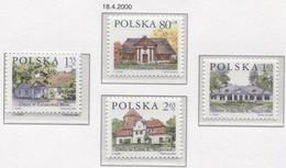 POLAND 2000 Polish Small Manor Houses, Cottage Village MNH** - 1944-.... République