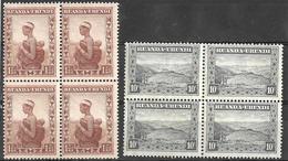 8Bc-970: 2 Blokken V4 Zegels: Varia .... ... Verder Uit Te Zoeken.. - 1924-44: Neufs