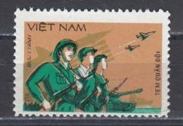 Vietnam 1983 - Army, Portofreiheitsmarke Mi-Nr. 40A, MNH** - Vietnam
