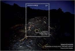 Azerbaijan Stamps 2019 Gamigaya Petroglyphs. Ordubad Region Nakhchivan History 2 - Archaeology