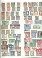 ISLANDE. Collection Sur 8 Grandes Pages. Oblitérés, Joli Lot Avec Blocs. - Colecciones (en álbumes)