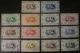 Réunion - YT 233 à 246 Obl - Réunion (1852-1975)