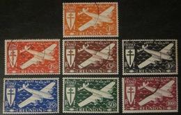 Réunion - PA 28 à 34 Obl - Reunion Island (1852-1975)