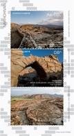 Azerbaijan Stamps 2019 Excavations Castle Ancient Necropolis - Bridges