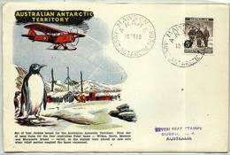 Antártida Australiana En Sobre - Territorio Antártico Australiano (AAT)