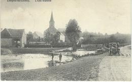 LOMPRET-LEZ-CHIMAY : L'Eau Blanche - Edit. E. Douniau, Cartes En Gros, Chimay - Cachet De La Poste 1911 - Chimay