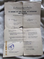 Document Allemand WW2 - 1939-45