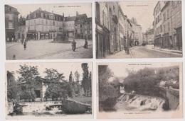 ARBOIS  Grande Rue, Place Liberté, Cascade, Pont Gresin 002 - Arbois