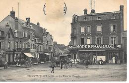 12/17     14   Trouville    La Route De Touques  & Le  Modern-garage   (animations) (timbre Décollé) - Trouville