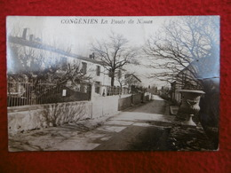CONGENIES ROUTE DE NIMES CARTE PHOTO BEDOUIN - Other Municipalities