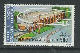 Afars Et Issas P.A. N° 109 X Nouvelle Aérogare De Djibouti, Trace De Charnière Sinon TB - Afars Et Issas (1967-1977)