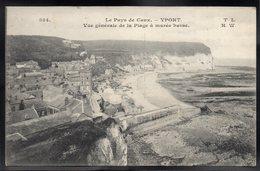 YPORT 76 - Vue Générale De La Plage à Marée Basse - #B598 - Yport