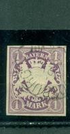 Bayern, Wappen, Nr. 30 Gestempelt - Bayern (Baviera)