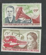 Afars Et Issas  P.A. N°  110 / 11  XX  Hommes Célèbres La Paire Trace De Charnière Sinon TB - Afars Et Issas (1967-1977)