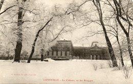 Luneville      Le Chateau Vu Des Bosquets..sous La Neige - Luneville