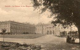 Luneville      Le Chateau Vu Des Bosquets.. - Luneville