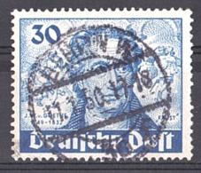 Berlin - 1949 - N° 53 Oblitéré - Goethe - Usati