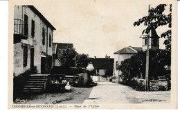 Saône Et Loire COLOMBIER EN BRIONNAIS Place De L'église - Autres Communes