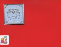 RARE   LYON LYONNET OUDET Rue Paul Bert Aux Ouvriers Réunis Bijouterie Orfèvrerie Horlogerie Lunetterie étiquette - Autres