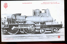 LES LOCOMOTIVES FLEURY - Trenes