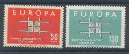 Turquie N°1672 Et 1673** Europa 1963 - 1921-... Republik