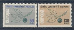 Turquie N°1741 Et 1742** Europa 1965 - Ungebraucht