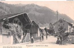 CPA - ROUGEMONT - QUARTIER DE LA GARE #9P28 - France