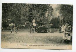 CHASSE à COURRE 138 Compiegne Equipage Du Francport   Rendez Vous Au Puits D'orléans No 29 Decelle - 1910 - Caccia