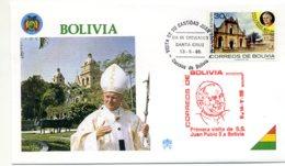 DP00038)Papst Johannes Paul 2., Papstreisenbrief  Bolivien 1988 - Päpste