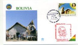 DP00041)Papst Johannes Paul 2., Papstreisenbrief  Bolivien 1988 - Päpste