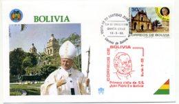 DP00044)Papst Johannes Paul 2., Papstreisenbrief  Bolivien 1988 - Päpste