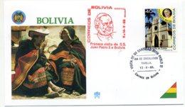 DP00047)Papst Johannes Paul 2., Papstreisenbrief  Bolivien 1988 - Päpste