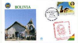 DP00048)Papst Johannes Paul 2., Papstreisenbrief  Bolivien 1988 - Päpste