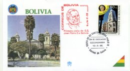 DP00049)Papst Johannes Paul 2., Papstreisenbrief  Bolivien 1988 - Päpste