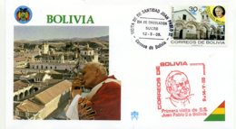 DP00046)Papst Johannes Paul 2., Papstreisenbrief  Bolivien 1988 - Päpste