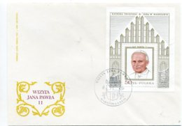 DP00130)Papst Johannes Paul 2., Papstreisenbrief  Polen 1979 - Papas