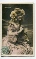 ARTISTE 1074 Gaby DESLYS Mains Jointes Robe De Courtisane XVIII Em  Timb 1905 - Artistes
