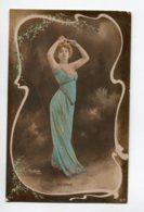 ARTISTE 1147 DIETERLE Bras Lévé Danse Portrait ART NOUVEAU   REUTLINGER Sip  1323 - Artistes