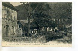 38 LE BETHOUX Maison Et Villageois Ligne Chemin De Fer De La MURE Viaducs De Loulla    1910    - -/D14-2017 - France